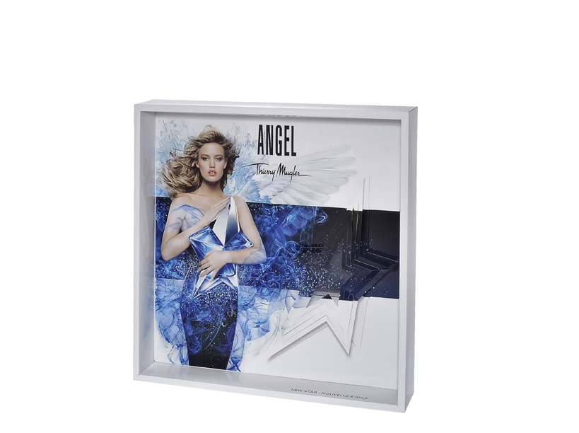 PLV vitrine Angel de Thierry Mugler - Global Concept